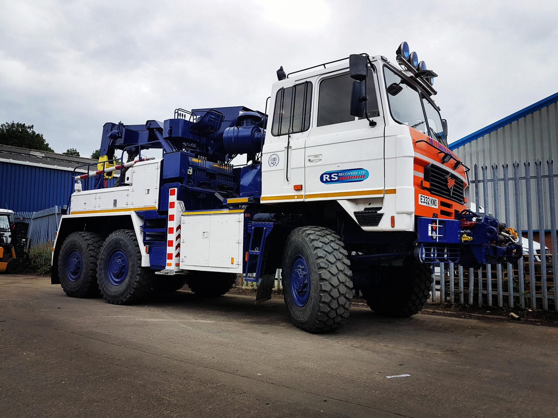 Versatility added to the Fleet – Foden 6×6