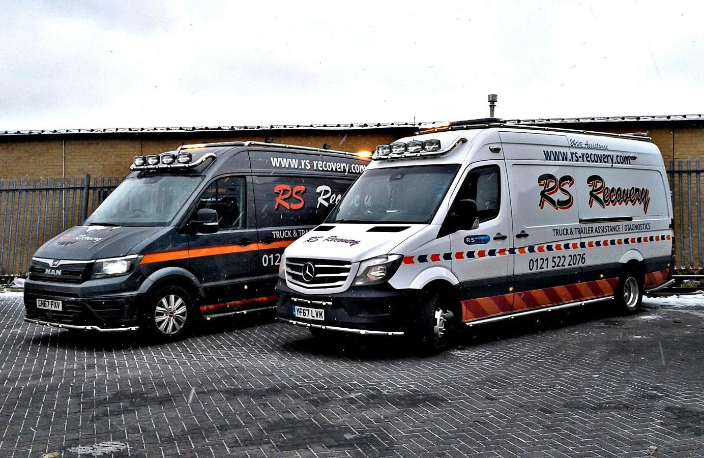 Service vans join the fleet